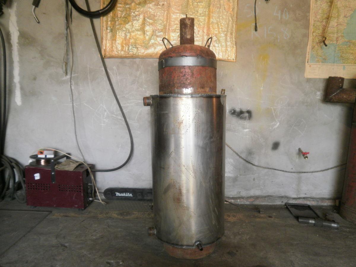 печь бубафоня с водяным контуром