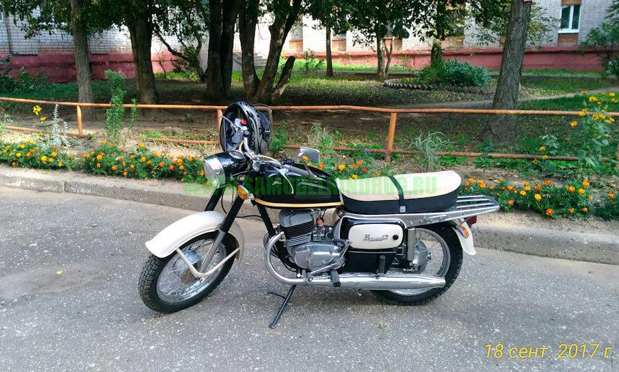 Советский мотоцикл Восход 2 реставрация