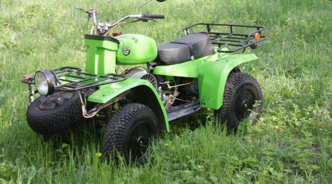 ЗиД 175 4ШП Первый Советский квадрацикл