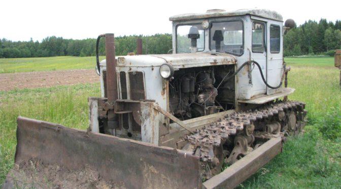 Гусеничный трактор Т 74 ХТЗ