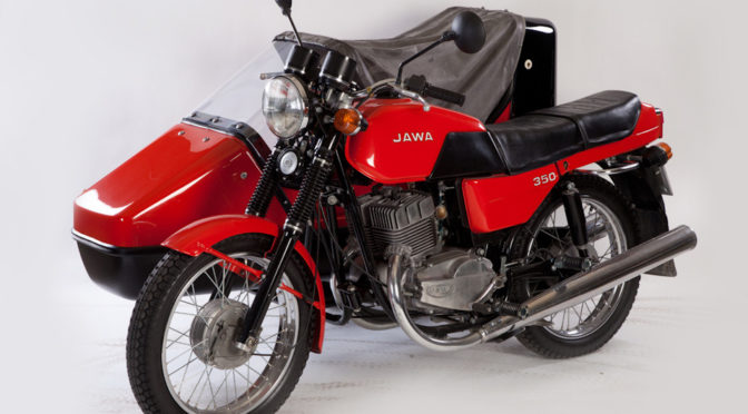 Мотоцикл Ява 350/638 выпуска 1990 г