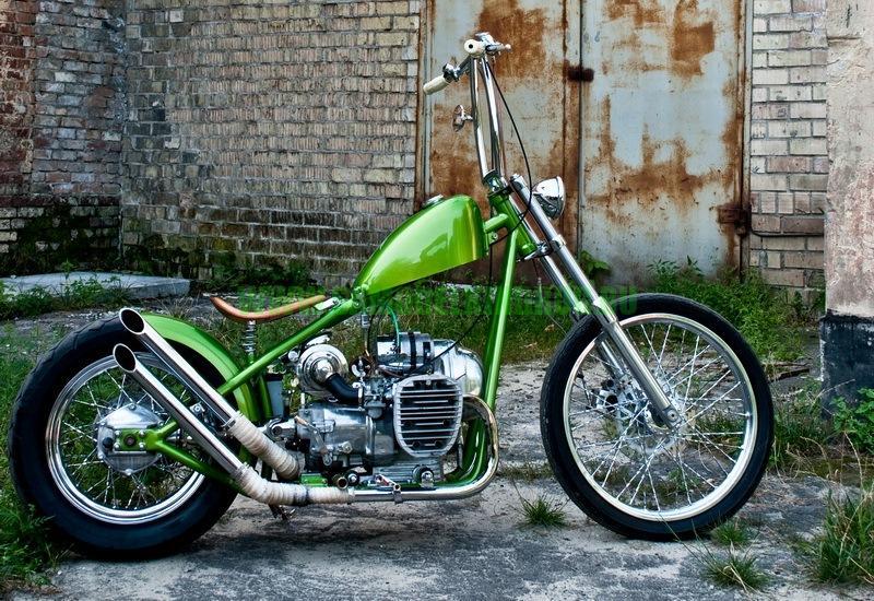 костом мотоцикла К-750