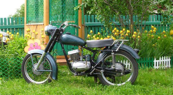 Мотоцикл ММВЗ М -105 вторая жизнь