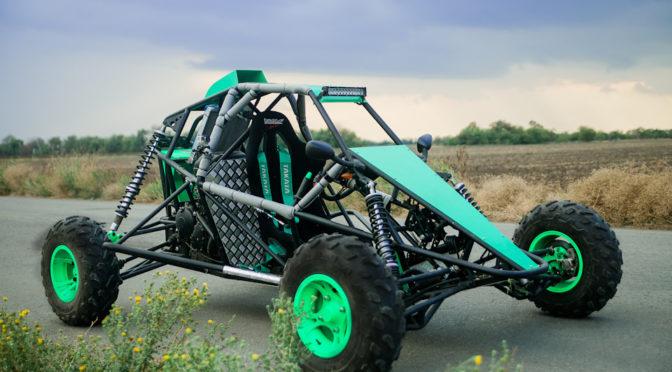 Багги Барракуда с двигателем Yamaha R-1