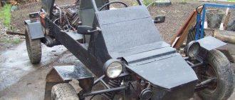 багги с двигателем от Запорожца