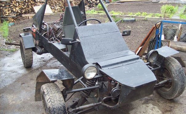 Самодельный багги с двигателем ЗАЗ 968