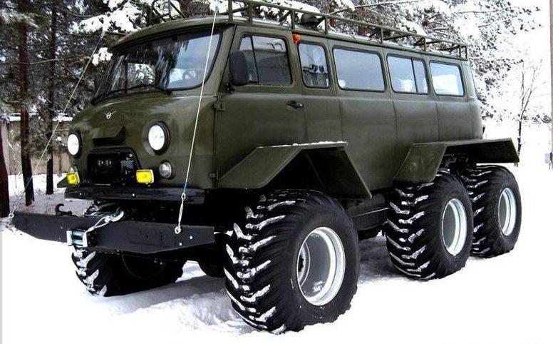 УАЗ Буханка снегоболотоход