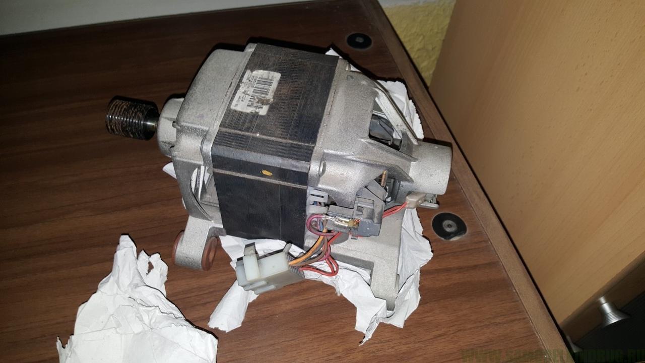 подключение мотора от стиральной машинки
