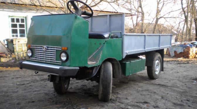 Самодельный грузовик с ГБО газо балонным оборудованием