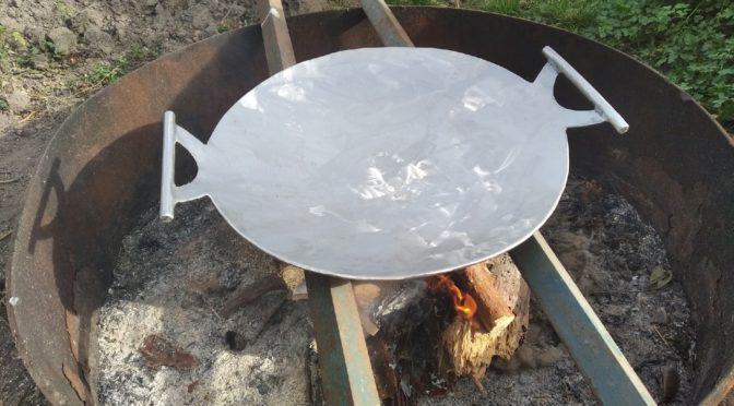 Садж сковорода из диска бороны