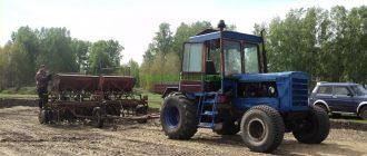 гусеничный трактор переделанный в колесный